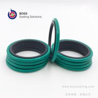 Wholesale Hydraulic rod shaft glyd ring double acting PTFE bronze rubber o ring compact seal brown green balck from china suppliers