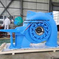 Low Loss Most Efficient Hydroelectric Generator , 60kw-250kw Water Dam Turbine for sale