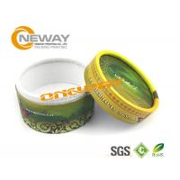 Printed Round Gift Packaging Box / Cardboard Gift Boxes With Lids