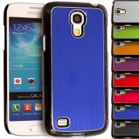 China Brushed Metallic Hard Back Cell Phone Case for Samsung Galaxy S4 Mini i9190 on sale