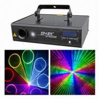 China Animation Laser Lights, RGB Laser Color with SD Card  on sale