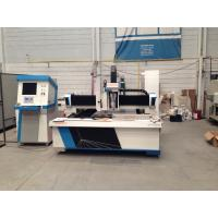 Buy cheap Metal sheet processing fiber CNC Laser Cutting Equipment 800W with dual drive from wholesalers