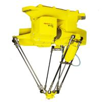 China Celling Mount Fanuc Robot Arm Parallel Link Mechanism 140kg Mass High Performance for sale