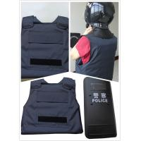 China Military Police Lightweight Bullet Proof Vest / Concealable Stab Proof Vest Soft Body Armor on sale