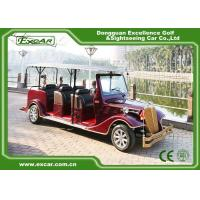Excar red 48V Electric Classic Cars elegant mini electric sightseeing car for sale