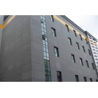 Exterior Wall Compressed Fibre Cement Sheet Cladding , Fiber Cement House Siding Board