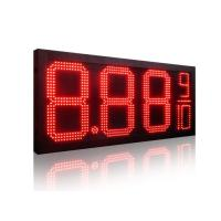 China Hitechled high brightness  8 to 24 LED Gas Price Sign, LED digits Sign, Senal LED para el precio del combustible on sale