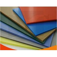 China Colorful Polypropylene Corrugated Plastic Sheets exhibition board on sale