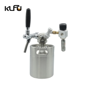Wholesale Beer Keg 170oz 5L Pressurized Beer Growler Bottle CO2 Regulator Stainless Steel from china suppliers
