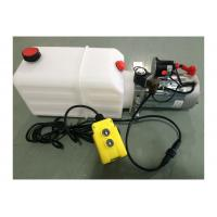 Buy cheap DC 24V 1600W Motor Horizontal Single Acting  Mini Hydraulic Power Packs for Dump Trailer from wholesalers