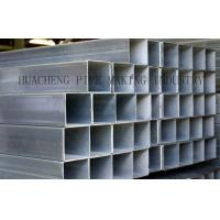 Buy cheap Galvanized Weld Rectangular Steel Tube Cold Drawn with Normal Carbon Steel , ASTM-A53 BS1378 from wholesalers