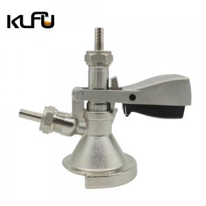 Wholesale Homebrew Beer Connector G5/8 A Type Stainless Steel Keg Tap Coupler from china suppliers