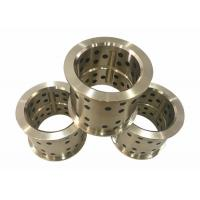 Wholesale C83600 Bronze Flange Bearing , Custom Bronze Bushings Stamping Tooling Standard from china suppliers