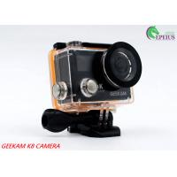 Wholesale Compact 2 Inch Dual Screen 4k Waterproof Action Video Camera K8 360VR 170 Degree from china suppliers