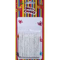 Buy cheap White Glitter Birthday Party Candles (SFC0008) from wholesalers
