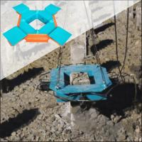 China Cutting concrete pile head machine BYP500S Concrete foundation pile Hydraulic pile breaker on sale
