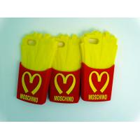 Wholesale Durable McDonald Chips Flexible Silicone Mobile Phone Case For Iphone 5S / 5C from china suppliers