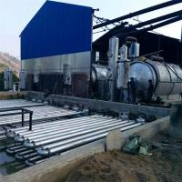 China Used Tire Recycling Plants Waste Plastic To Fuel Oil Pyrolysis Machine for sale on sale
