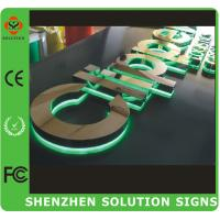 Wholesale back lighting led channel letter sign from china suppliers