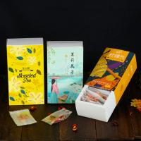 China Custom Printed Food Packaging Box , Lightweight Paper Drawer Box For Tea on sale