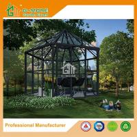 Wholesale Newest Aluminium Profile + Tempered Glass Luxury Hexagon Shape Sun Room - 390 X 343 X 290CM (L X W X H) from china suppliers