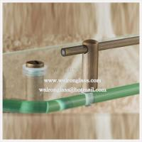 Wholesale High Quality Clear Tempered/Toughened Glass with CE for Bathroom from china suppliers