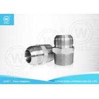 BSPT Male JIC Hydraulic Flared Fittings Adapter With 37 Degree Conical Seals