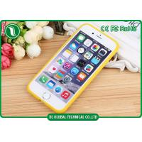 Wholesale For Iphone 6 Case Soft TPU And Transparent Acrylic Colorful Candy Phone Case from china suppliers
