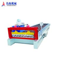 China High Quality Color steel plate metal sheet corrugated roof panel making roll forming machine on sale
