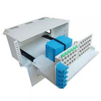 Wholesale 3U Height 96 Core Fiber Optic Distribution Frame For Telecommunications Subscriber Loops from china suppliers