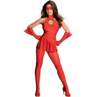 Wholesale Hero Costumes Wholesale Spandex Red The Flash Costume with size S to XXL from china suppliers