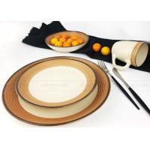 China Tableware set wholesale square Eco-Friendly cheap ceramic 16 pcs dinner set for sale