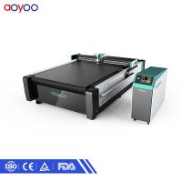 China CNC oscillating knife paper carton sample honeycomb carton cutting machine for sale on sale