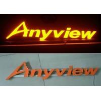 China Front Lit Aluminum / Stainless Steel 3D LED Channel Letter Signs For Lighting Up Store LOGOs on sale
