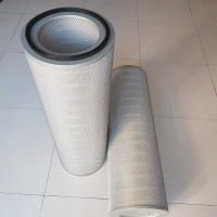 Wholesale 0.3 Micron Air Dust Cartridge Filter For Air Purification System 972m³/Hour Limit Traffic from china suppliers