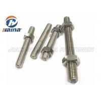 Wholesale A4-50 A4-70 A4-80 316L 304 Stainless Steel Fully Threaded Rod Stud Bar from china suppliers