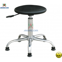 Wholesale Cleanroom 10e8 Ohm 620mm Adjustable ESD Antistatic Chair from china suppliers