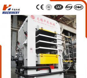High glossy hydraulic door press machine