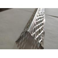 China 32mm Wing Aluminium Angle Bead , Drywall Corner Bead 2.4m Length 0.4mm Thickness for sale