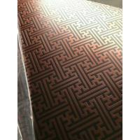 Wholesale 304 Hairline Bronze Stainless Steel Plate Copper Plating Sheet Brass Color from china suppliers