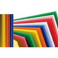 Wholesale Custom Reusable PP Plastic Corrugated Plastic Sheets For Packing Box / Billboard from china suppliers