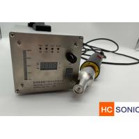 Wholesale Compact Ultrasonic Welding Equipment Ultrasonic Spot Welder For Sound Absorbing Fleece from china suppliers