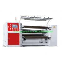 Wholesale 350MPM Shaftless Unwinding Thermal Paper Slitting Machine PLC Mitsubishi Delta Inverter from china suppliers