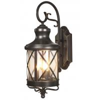 European Classical Outdoor Wall Lighting For Home , Black Brown Garden Lamp IP65 for sale