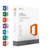 Wholesale DirectX 10 Office 2016 Product Key Card , OEM Retail Version Microsoft Office 2016 Pro Download from china suppliers