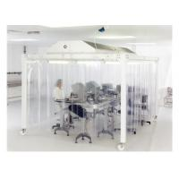 China EBM Fan Lab Modular Softwall Cleanroom / Hospital Class 10000 Clean Room for sale