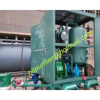 mobile type vacuum transformer oil filtration equipment with car wheel trailer PLC for sale