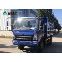 Factory Directly HOMAN 4X2 Light Duty Semi Trucks EURO 3 130HP 11CBM 14T Payload for sale
