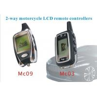 Wholesale 2- way Car Alarm Remotes Controller Of Motorcycle Alarm With LCD Remote Controllers from china suppliers