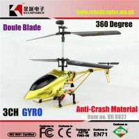 Wholesale Falcon VII 8827 3 Channel Micro RC Helicopter With Buid-in Gyro from china suppliers